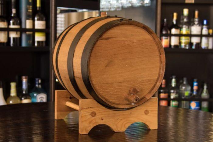 Thùng gỗ sồi ngâm rượu 20L