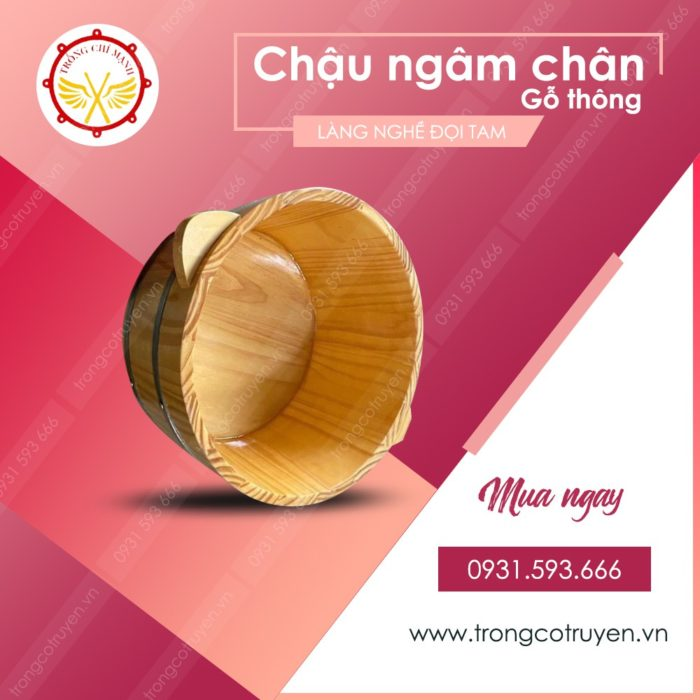 Mua Chậu Ngâm Chân Gỗ Thông Cao Cấp Giá Rẻ HCM, Hà Nội
