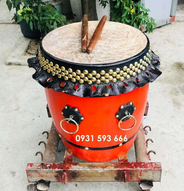 Bán Trống múa lân 6 tấc cổ truyền Việt Nam giá xưởng