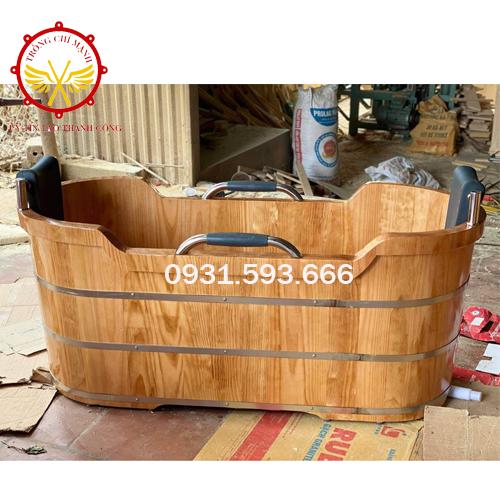 Nuông chiều bản thân cùng bồn tắm gỗ