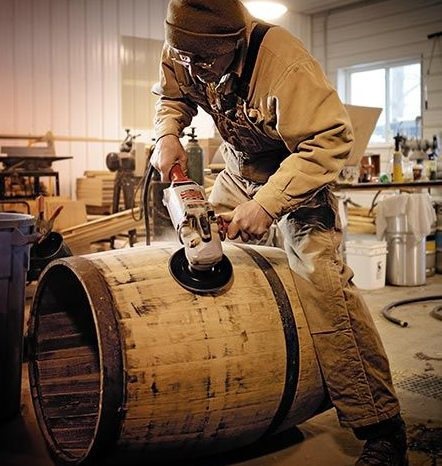 cách làm thùng đựng rượu bằng gỗ sồi