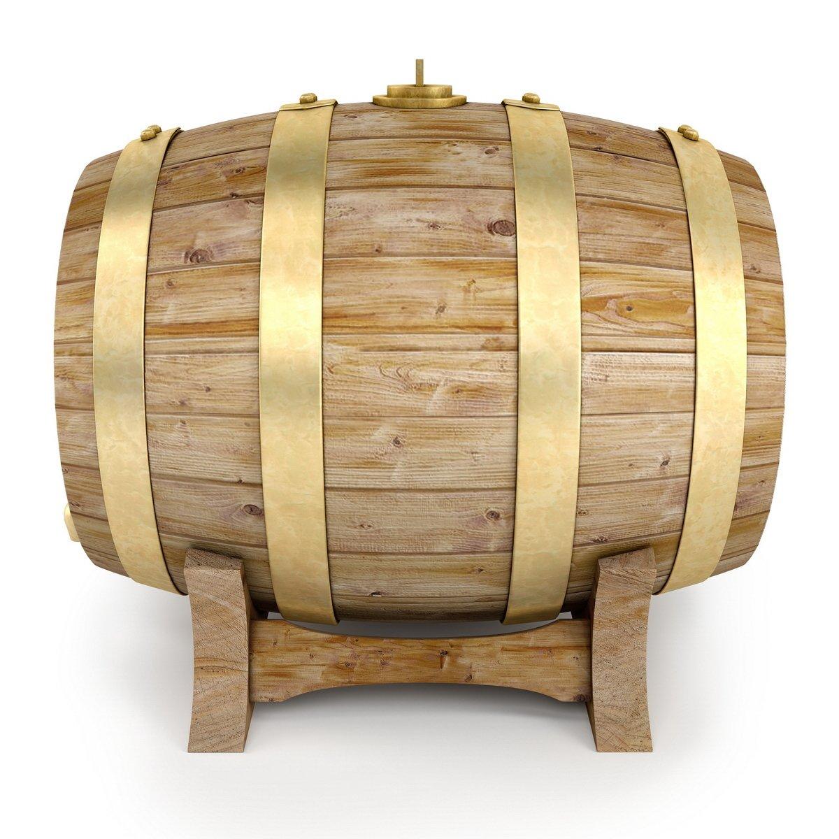 Bom rượu bằng gỗ