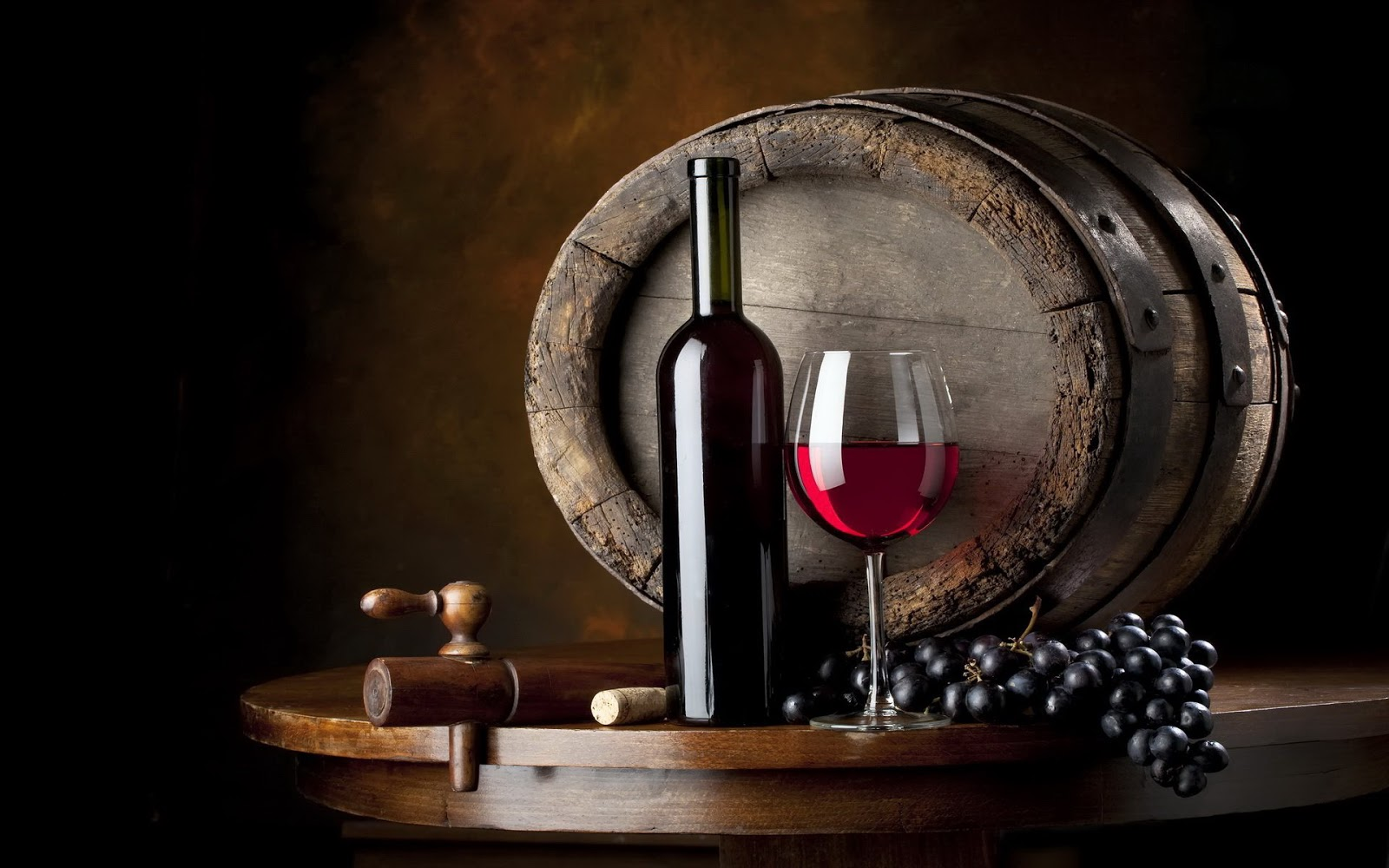 rượu ủ trong thùng gỗ sồi