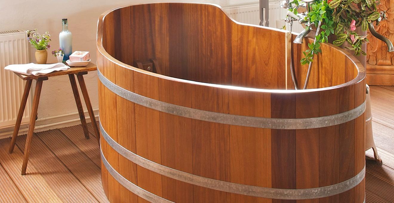 Bồn tắm gỗ đẹp giá rẻ