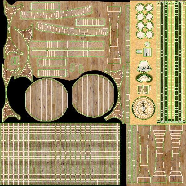 Bản vẽ từng chi tiết của thùng gỗ sồi ngâm rượu