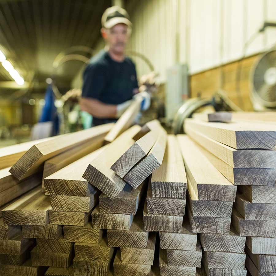 sản xuất thùng gỗ sồi