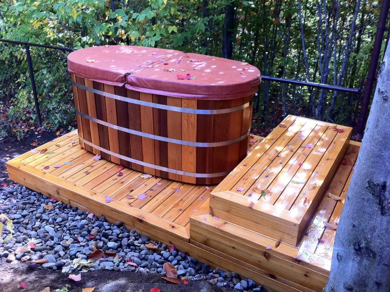 Vị trí đặt bồn tắm gỗ