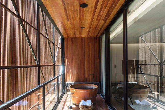 Kiến tạo không gian phòng tắm bằng bồn gỗ đẳng cấp xin sò