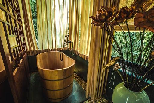 Bồn tắm gỗ thuốc cao cấp
