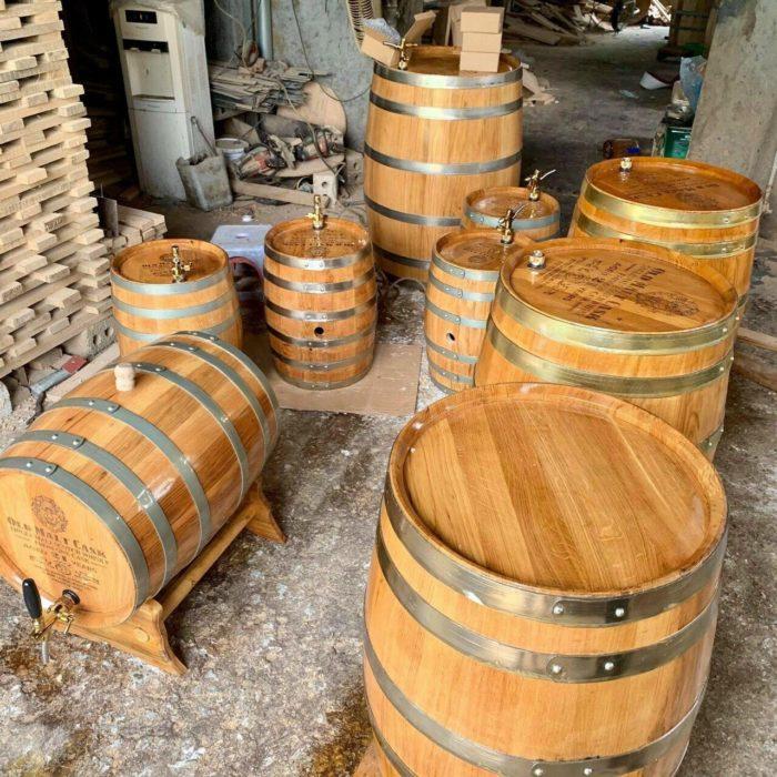 Mua thùng gỗ sồi Chí Mạnh cam kết giá xưởng tốt nhất