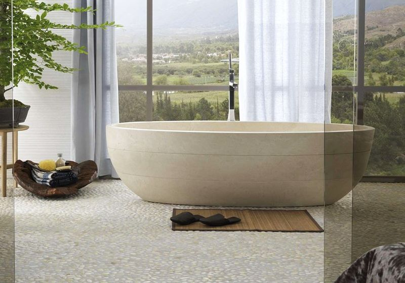 chất liệu bồn tắm