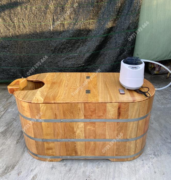 Bồn tắm gỗ xông hơi Hà Nội   Trống Cổ Truyền
