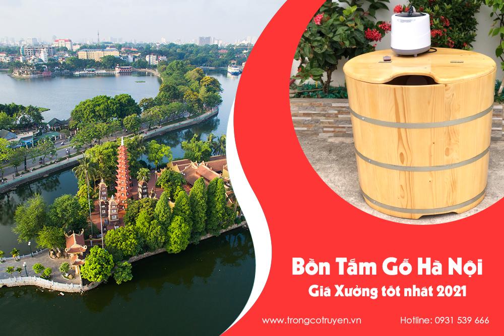 Mua bồn tắm gỗ Hà Nội