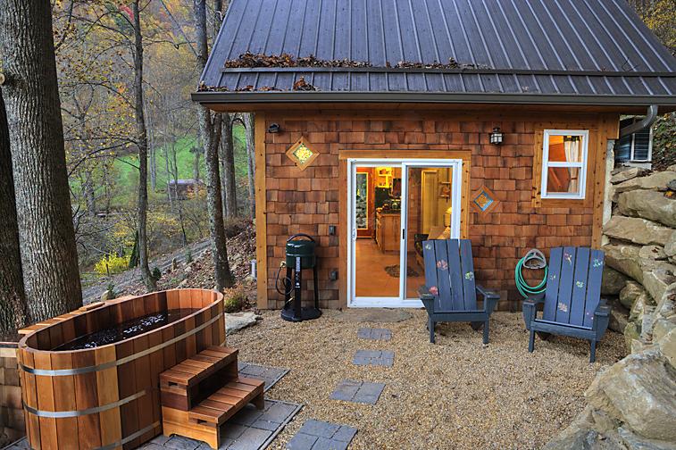 Bồn tắm gỗ gia đình dễ dàng điều chỉnh và di chuyển