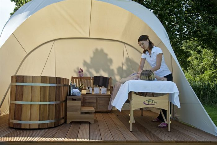 Mua bồn tắm gỗ Tiết kiệm chi phí đối với các Resort, Spa