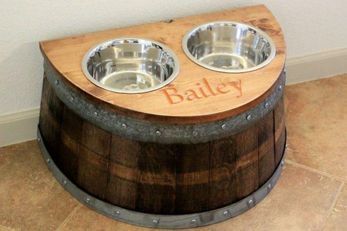 Tái chế thùng rượu gỗ sồi cũ