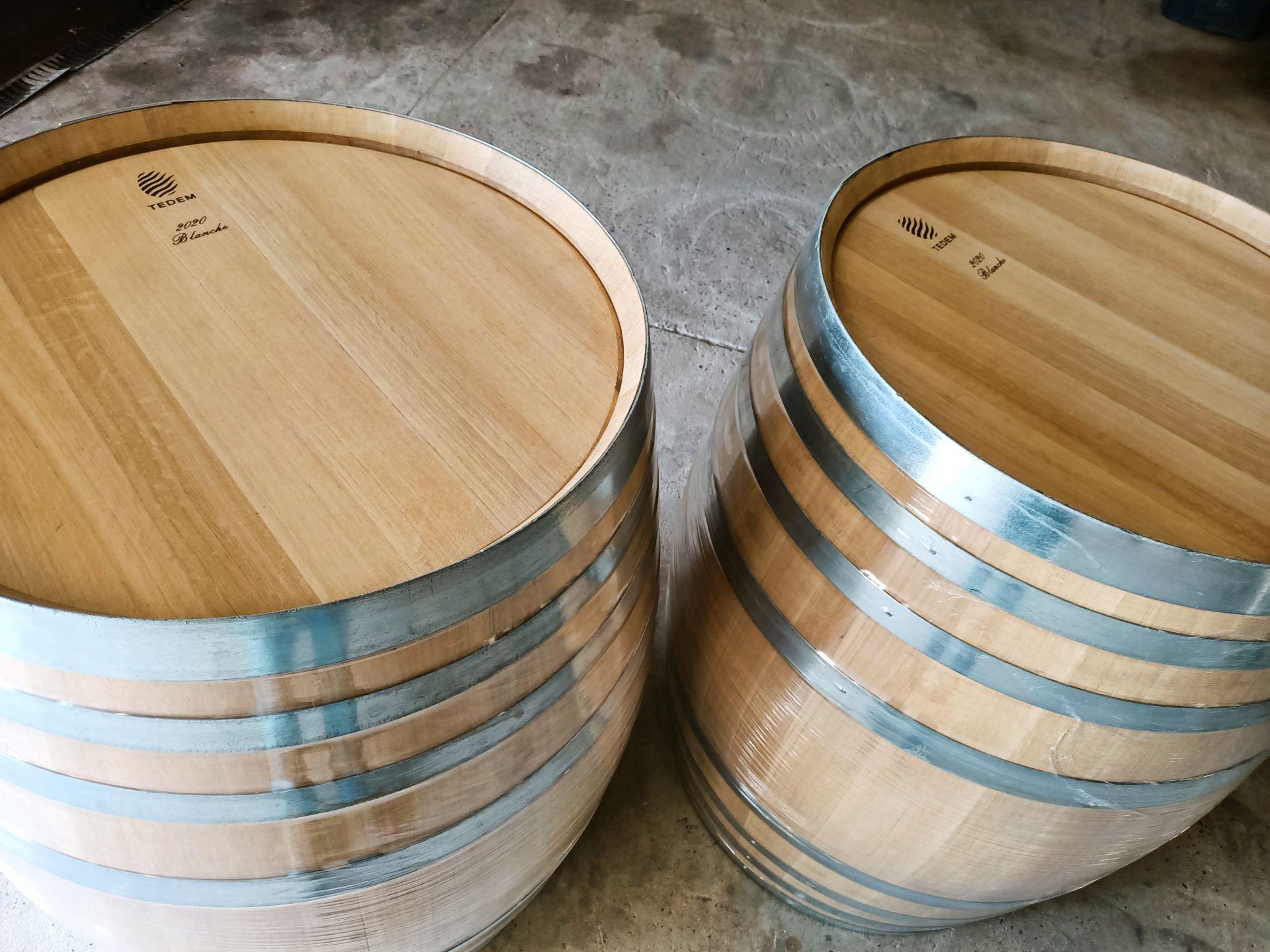 thùng gỗ sồi đựng rượu 400L