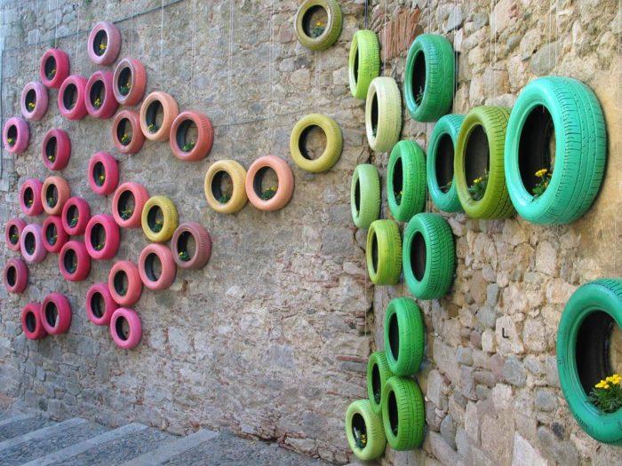 Bồn tắm lốp xe cũ và 7 ý tưởng táo bạo nhưng vô cùng sáng tạo
