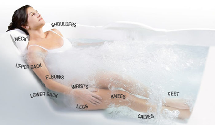 Whirlpool hydrotherapy