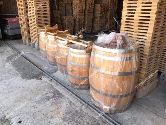 Hướng dẫn cách sử dụng thùng ủ rượu gỗ sồi sau khi mua về
