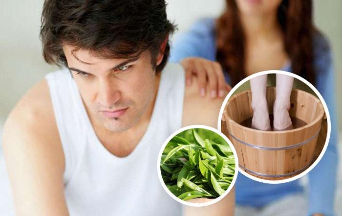 Chữa yếu sinh lý nhờ dùng chậu gỗ ngâm chân, hiệu quả không tưởng