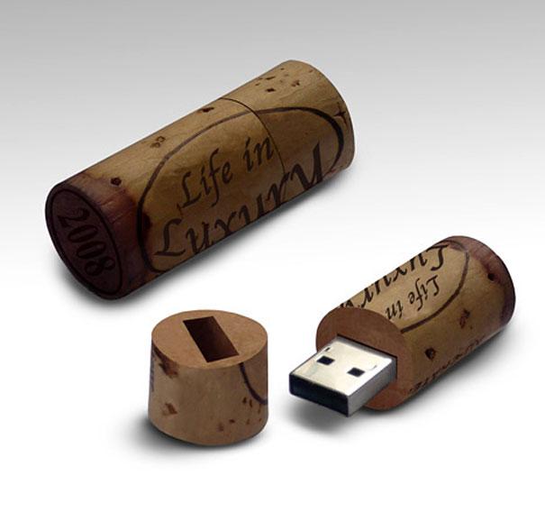 USB nút rượu - Phụ kiện rượu