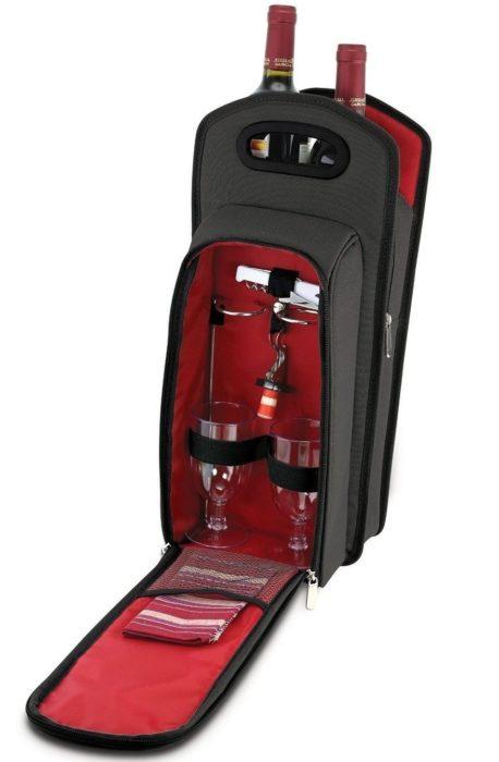 Túi du lịch đựng rượu vang - phụ kiện rượu