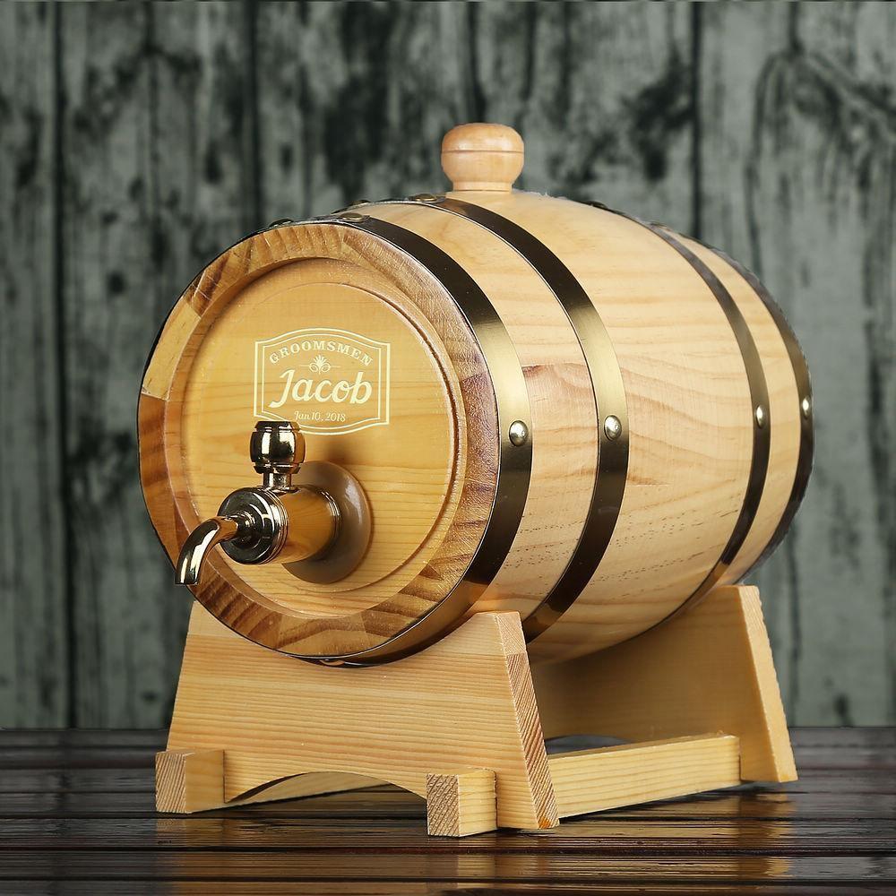 Thùng gỗ sồi ngâm rượu - phụ kiện rượu