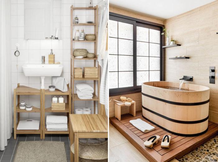 Tận dụng từng centimet biến phòng tắm nhỏ thành nơi để chill