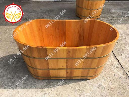 Mua Bồn tắm gỗ Pơmu ở Hải Dương