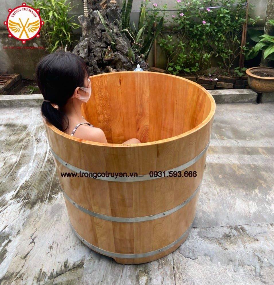 Bán Bồn tắm gỗ giá rẻ ở Hải Dương